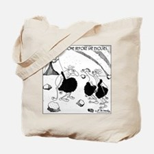 Get Her Home Before She Evolves Tote Bag