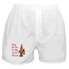 Say Ho Ho Little Friend Boxer Shorts