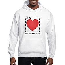 CUT OUT AND KEEP Hoodie Sweatshirt