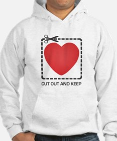 CUT OUT AND KEEP Hoodie Sweatshirt