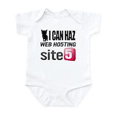 I Can Haz Web Hosting Infant Bodysuit
