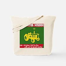 Tractor Wisdom #38 Tote Bag
