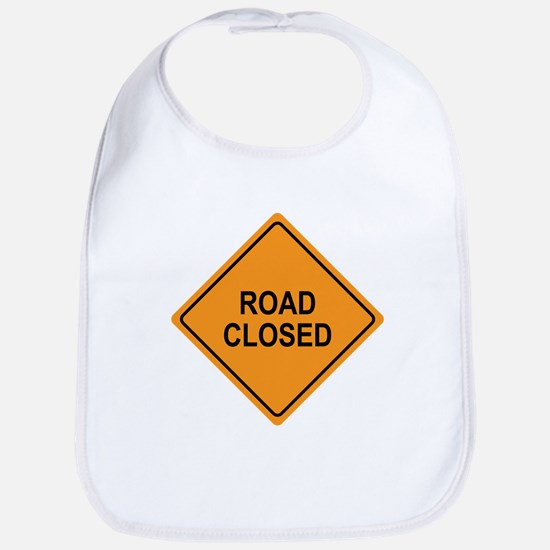Road Closed Sign Bib