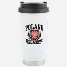 Poland Polska Travel Mug