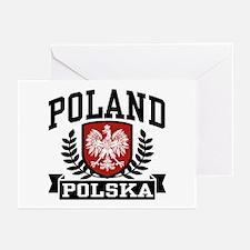 Poland Polska Greeting Cards (Pk of 10)