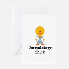 Dermatology Chick Greeting Cards (Pk of 10)