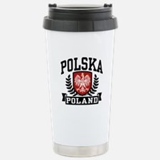 Polska Poland Travel Mug