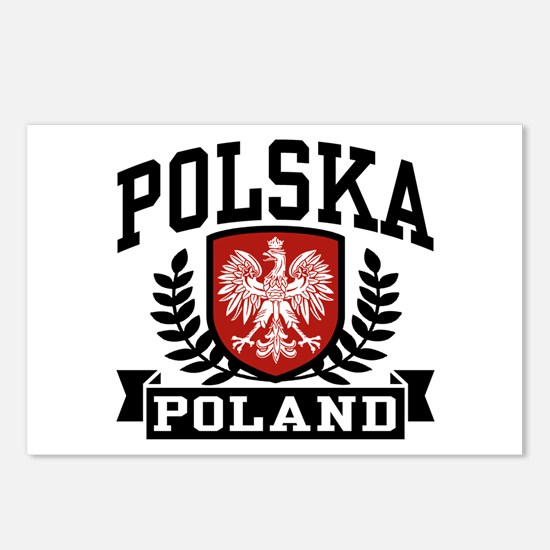 Polska Poland Postcards (Package of 8)