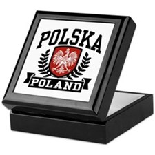 Polska Poland Keepsake Box