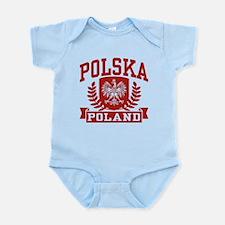 Polska Poland Infant Bodysuit