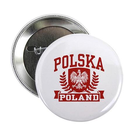 "Polska Poland 2.25"" Button (10 pack)"