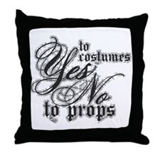 Costumes & Props Throw Pillow