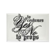 Costumes & Props Rectangle Magnet