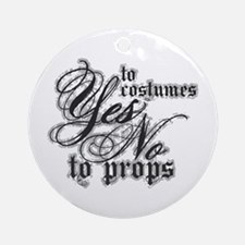 Costumes & Props Ornament (Round)