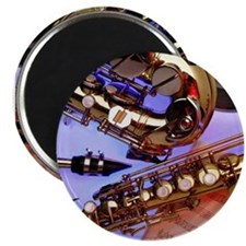 military-sax-lg Magnets
