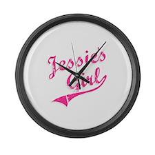 Jessie's Girl Large Wall Clock
