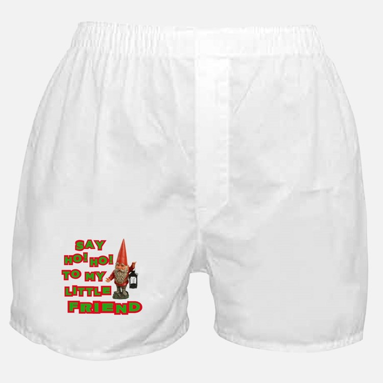 Say Ho Ho to Santa Boxer Shorts