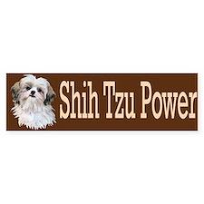 Shih Tzu Power Car Sticker
