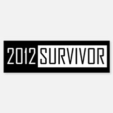 2012 Survivor - Bumper Bumper Bumper Sticker