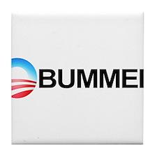 Funny 2012meterantiobama Tile Coaster