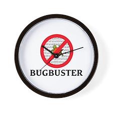 Bug Buster Wall Clock