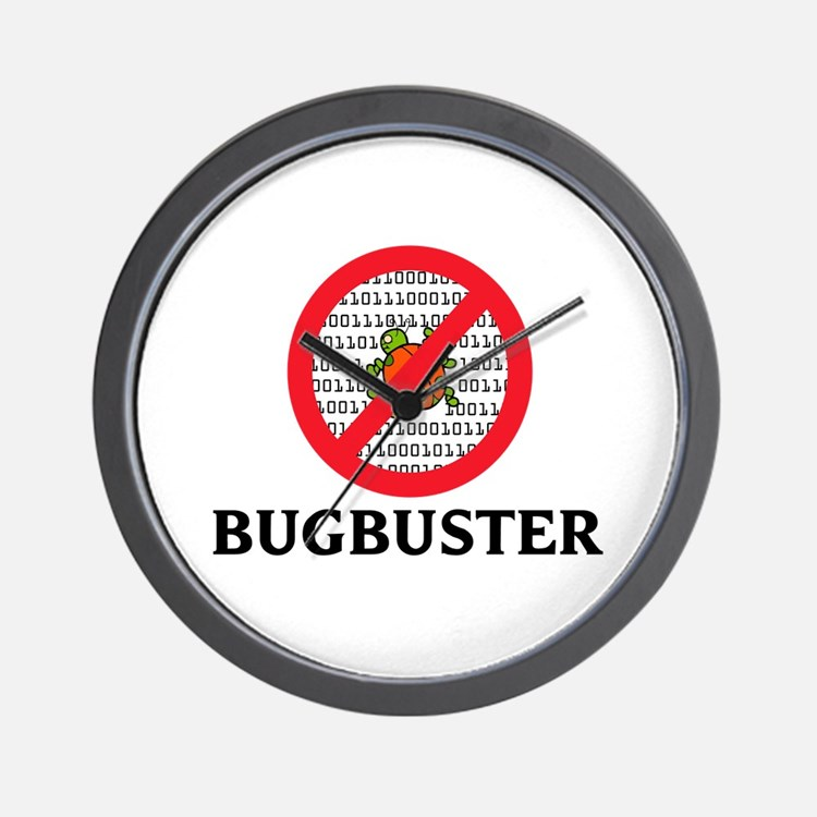 Bug Buster Wall Clock