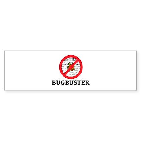Bug Buster Bumper Sticker