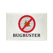 Bug Buster Rectangle Magnet