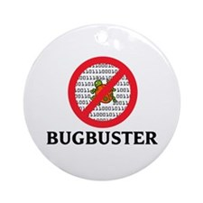 Bug Buster Ornament (Round)