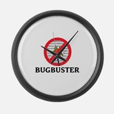 Bug Buster Large Wall Clock