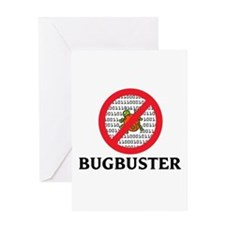 Bug Buster Greeting Card