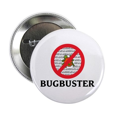 """Bug Buster 2.25"""" Button (10 pack)"""