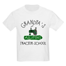 Grandpa's Tractor School T-Shirt
