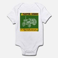 Tractor Wisdom #17 Infant Bodysuit