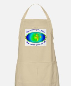The more you give... BBQ Apron