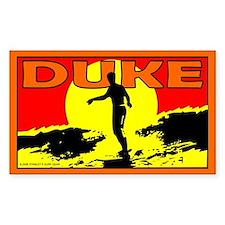 Duke Rectangle Decal