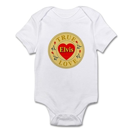 Elvis True Love Golden Seal Infant Creeper