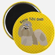 Shih Tzu Dad Magnet