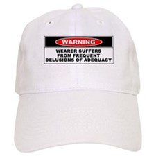 Delusions of Adequacy Baseball Cap