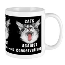 Cats Against Conservatives Mug