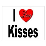 I Love Kisses Small Poster