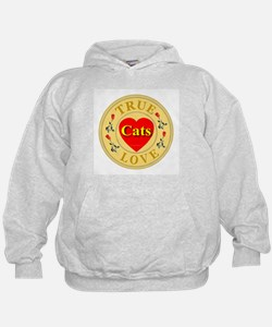 Cats True Lover Golden Seal Hoodie