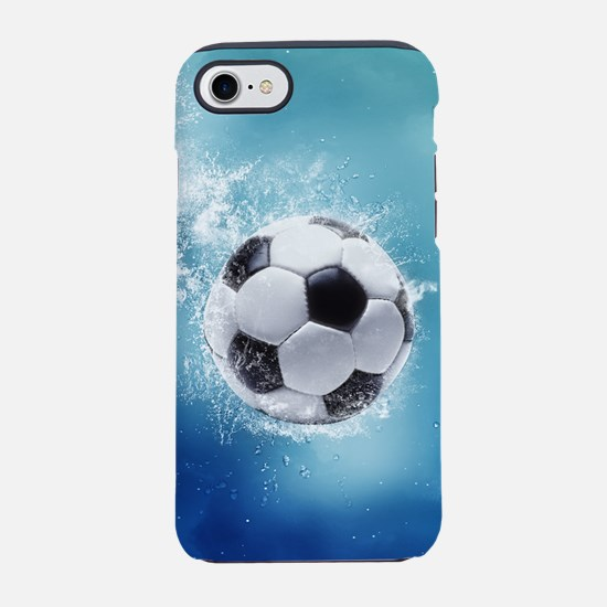 Soccer Water Splash iPhone 7 Tough Case