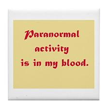 paranormal Tile Coaster