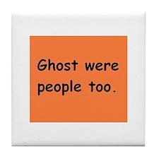 ghost1 Tile Coaster