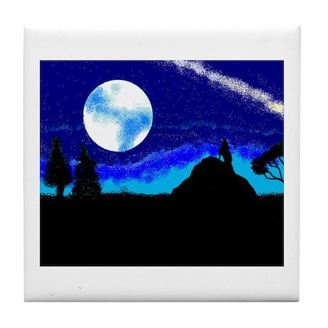 Nightime Tile Coaster