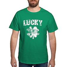 Irish Lucky Shamrock T-Shirt