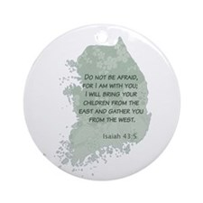 Isaiah 43:5 Ornament (Round)