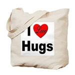 I Love Hugs Tote Bag