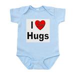 I Love Hugs Infant Creeper